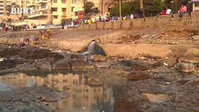 Photo: Sewage at Promenade