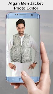 Afghan Men Jacket Photo Editor – Afghan Jacket - náhled