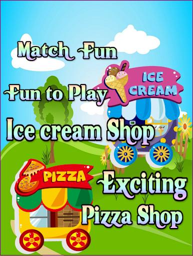 Fast Food Shop - Kids Match