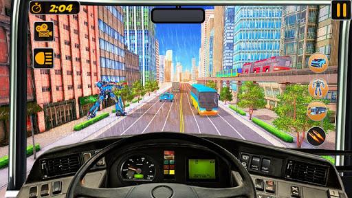 Bus Robot Car Transform War u2013Police Robot games modavailable screenshots 5