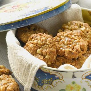 Sugar Free Oat, Honey Nut Cookies