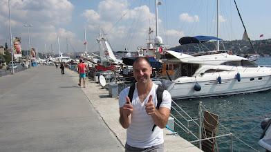 Photo: walking along the Bosphorus - Stephen