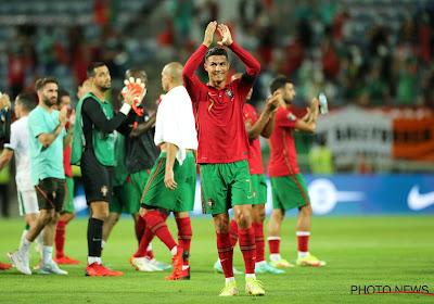 """Cristiano Ronaldo dans la légende : """"Très heureux de ce record"""""""