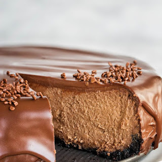 Supreme Chocolate Cheesecake.
