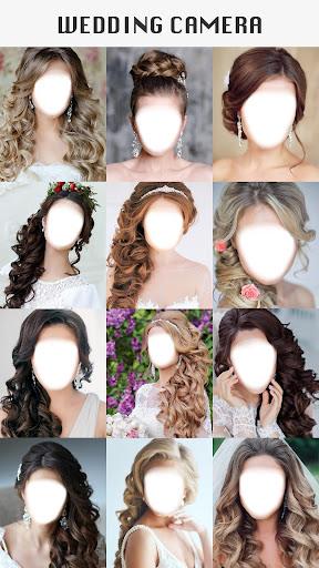 Wedding Camera: Hairstyles & Photo Montage Maker screenshots 2