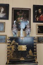 Photo: Kabinett der Kurfürstin - Kabinettschrank, schwarz und gold lackiert, Japan, Ende des 17. Jh.