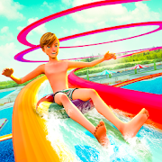 Water Park Slide Racing Adventure