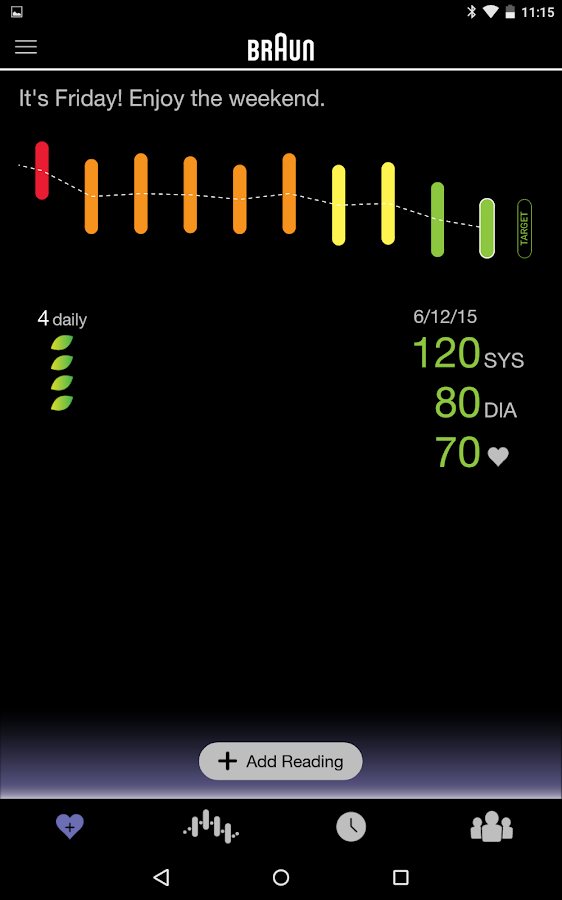 Braun Healthy Heart- screenshot
