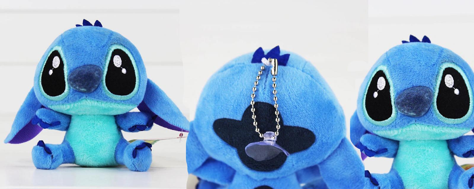 4/'/' 10cm Cute Lilo and Stitch Plush Toy Soft Touch Stuffed Doll Figure Kids Gift