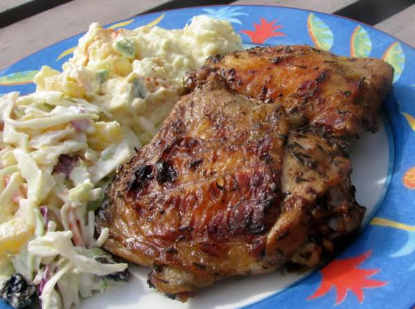 Bahamian Grilled Chicken