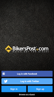 BikersPost- screenshot thumbnail