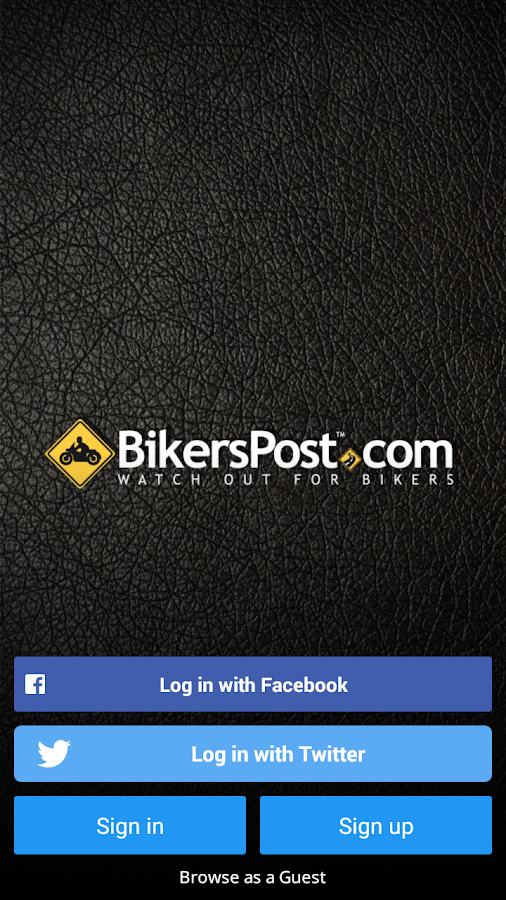 BikersPost- screenshot