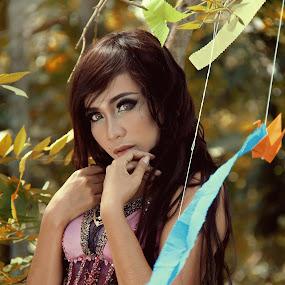 Mia Chan by Havidz Zhurrahman - People Fashion ( nature, color, forest, beauty )