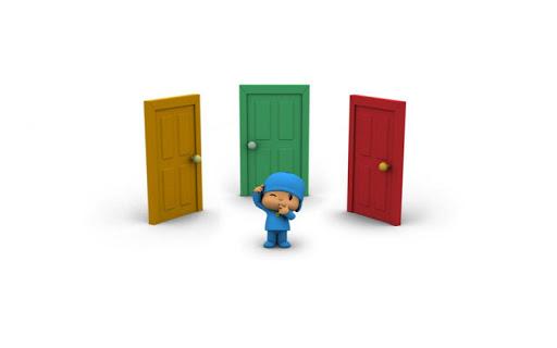 Pocoyo: A thousand doors