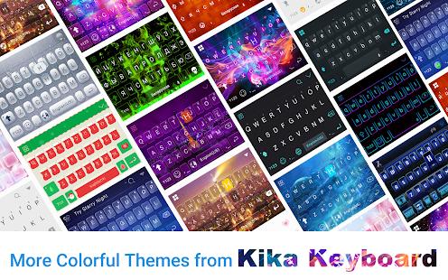 Glamor-Flowers-Keyboard-Theme 4
