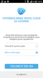 Vestel Cloud - náhled