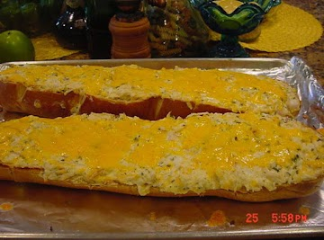 Ranch Chicken Stuffed French Bread Recipe