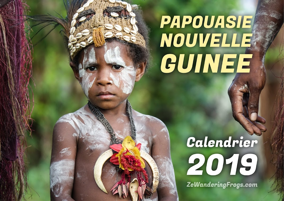 Calendrier 2019 - Papouasie Nouvelle Guinee