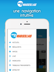 Foot Marseille- screenshot thumbnail