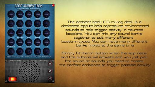 CoopBox Ambient Mixing Desk screenshot 6
