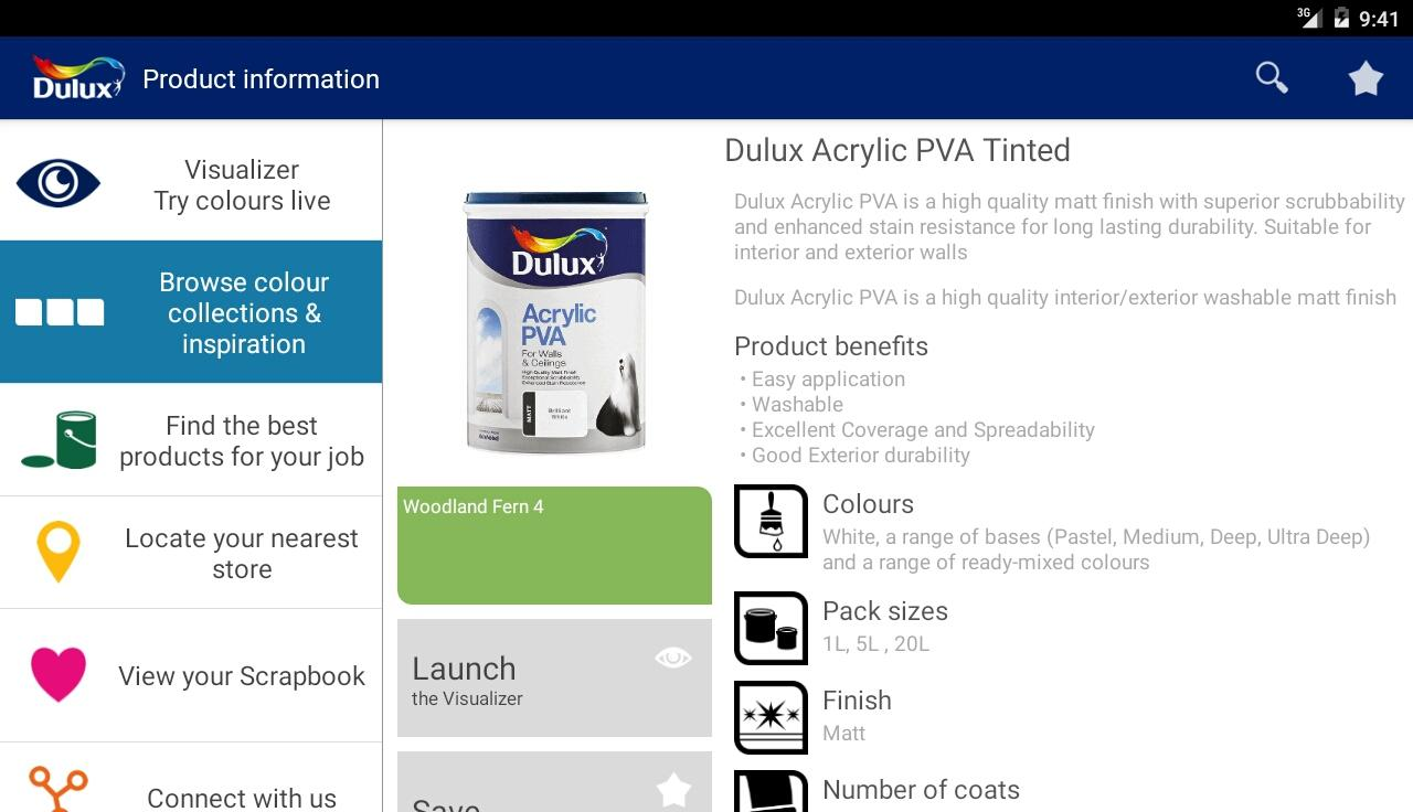 Dulux visualizer za google play store revenue download estimates spain