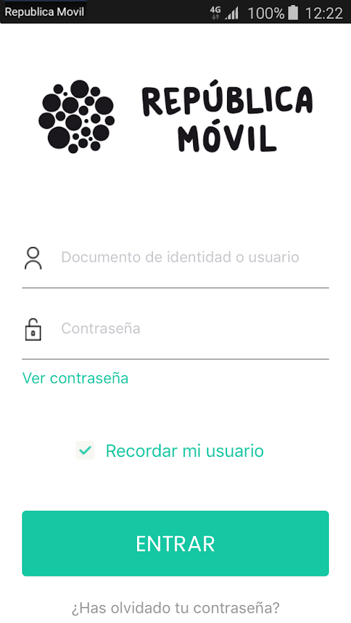 República Móvil- screenshot