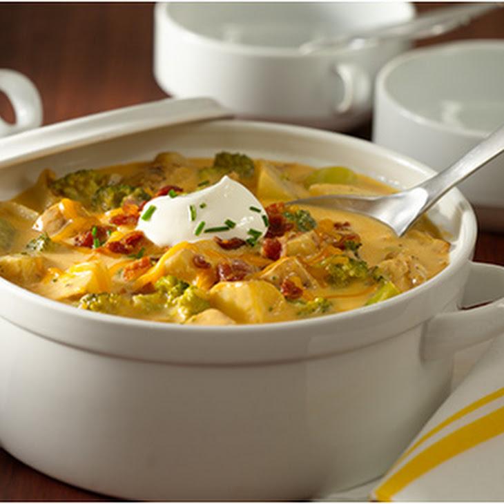Loaded Roasted Potato Soup Recipe