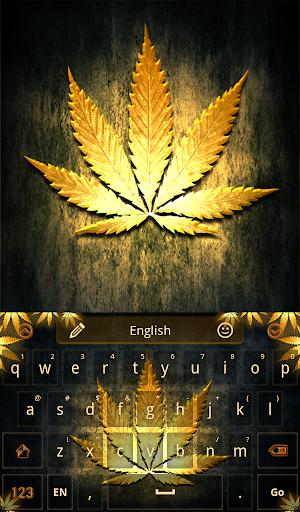 Gold Rasta Keyboard
