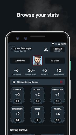 D&D Beyond Player Tools screenshot 3