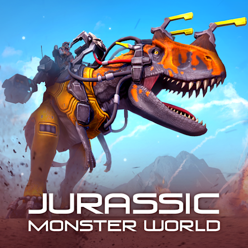 Jurassic Monster World: Dinosaur War 3D FPS (Mod Ammo) 0.10.3mod
