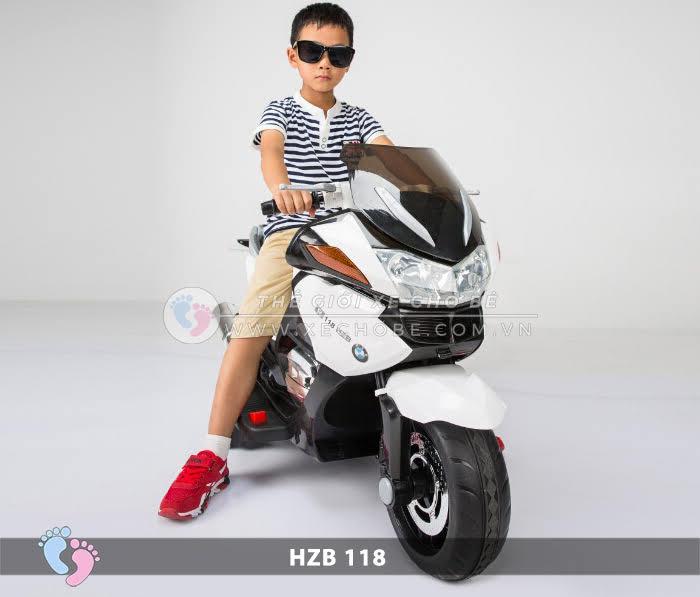 Xe mô tô điện cho bé HZB-118 3