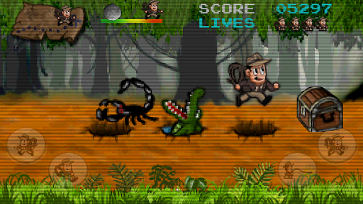 Retro Pitfall Challenge apkpoly screenshots 13