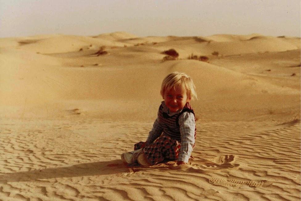 Sahara, Algieria, 1983, pustynia