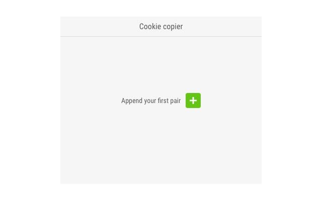 Cookie copier