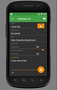 KeePass DX (Unreleased)- screenshot thumbnail