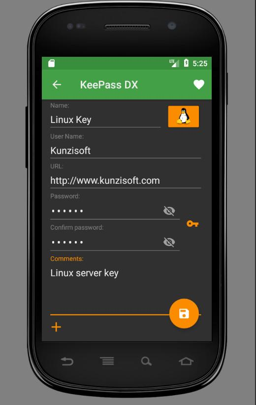 KeePass DX (Unreleased)- screenshot