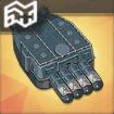 610mm四連装魚雷T3