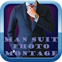 Man Suit Photo Montage 2 icon