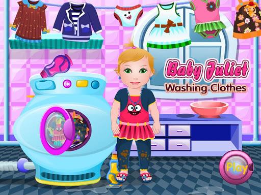 赤ちゃんの衣類の洗濯