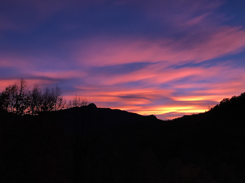 Un meraviglioso tramonto in montagna di iam_paola