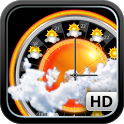 eWeather HD with Weather alerts icon