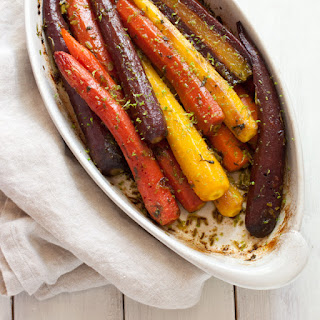 Roasted Carrots with Cilantro and Lime Recipe