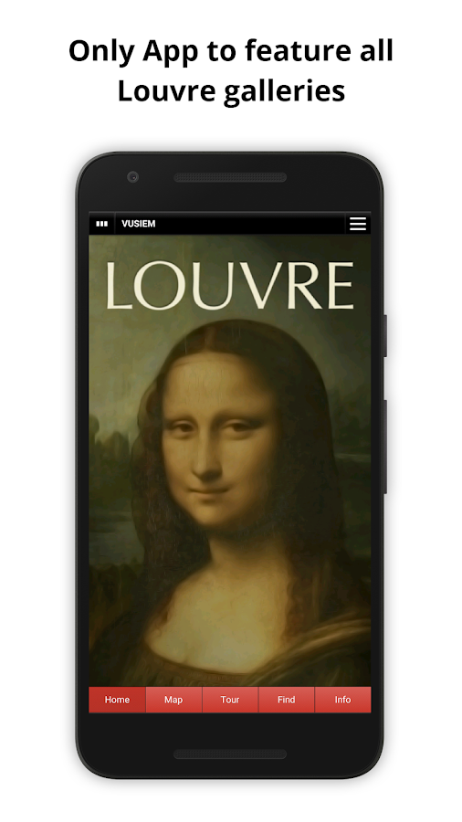 Louvre Guide- screenshot