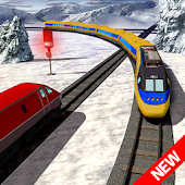 Impossible Euro Train Driving Simulator : 3D City