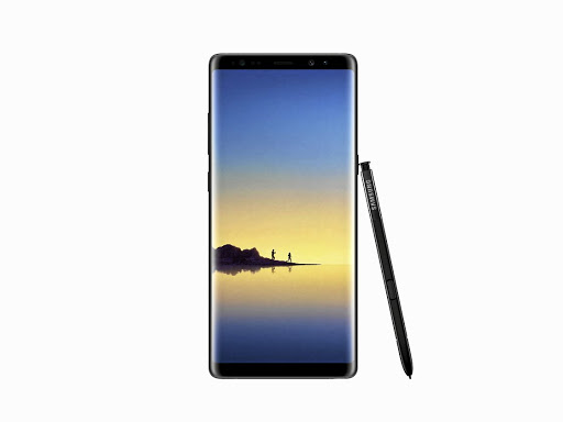 The Samsung Note8.