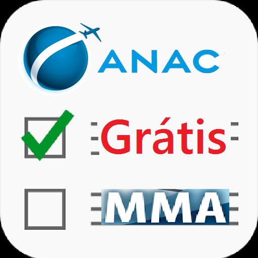 Simulados BANCA para ANAC - MMA - Grátis