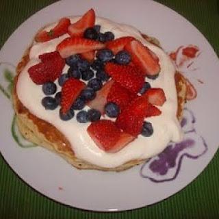 Choc Chip Pancakes / Flapjacks