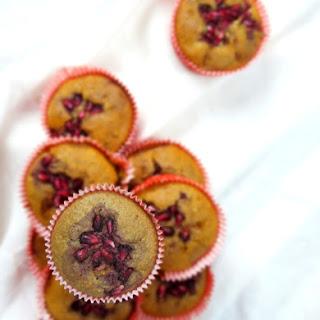 Pomegranate and Goji Berry Muffins