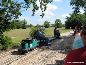Photo: Bill Howe and Ken Smith running a freight opposite direction.  HALS 2009-0620