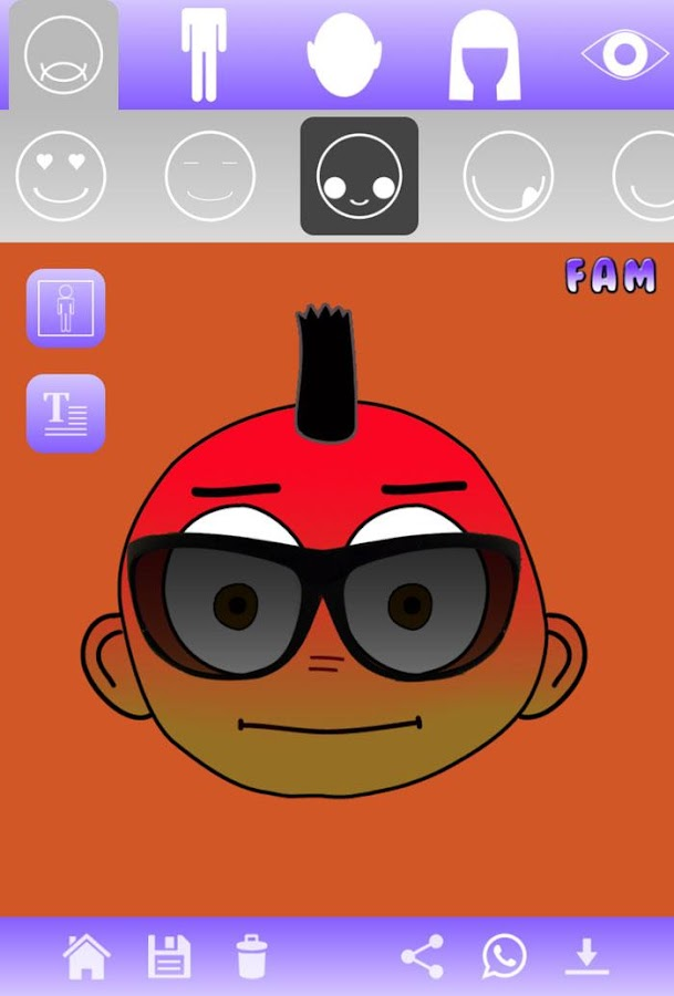 Character Design App Free : Funny avatar maker fam android apps on google play